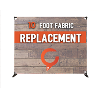 10' Slider Fabric Banner REPLACEMENT
