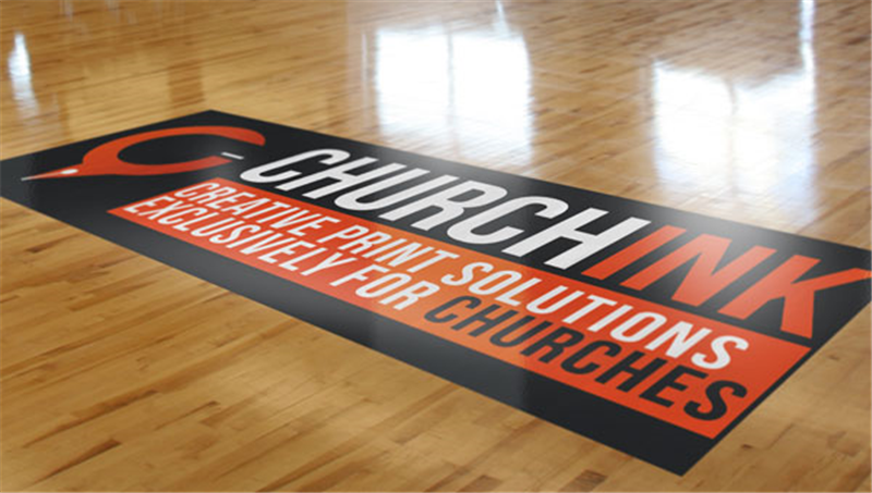 Church Signs Floor Graphics Printing Adhesive Signs