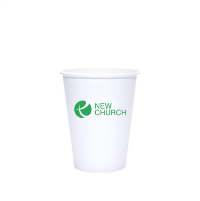 12 oz White Hot Cups