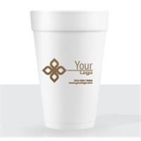 16 oz Foam Disposable Cups