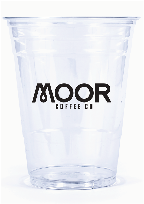 16 Oz Printed Clear Plastic Pet Cups