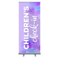 Easter Retractable Banner Stands (Economy)