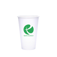 16 oz White Hot Cups