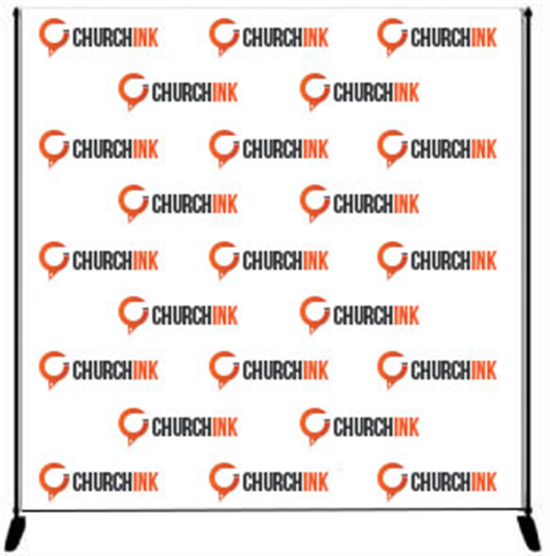 Step And Repeat Banners For Churches - Step and repeat banner template