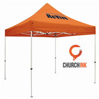 Ministry Event Tent 1 Color Imprint