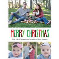 Christmas Cards Style 4 (5x7)