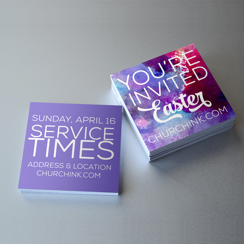 easter invite cards