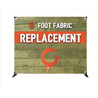 8' Slider Fabric Banner REPLACEMENT