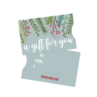Christmas Gift Card Sleeves