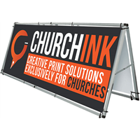 Outdoor Banner Frame - 8 foot (DESIGN ONLINE)