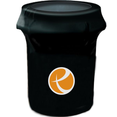 44 GAL Printed Trash Can Cover