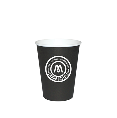 12 oz Black Hot Cups