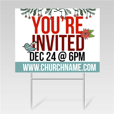 Christmas Yard Signs - 40% OFF
