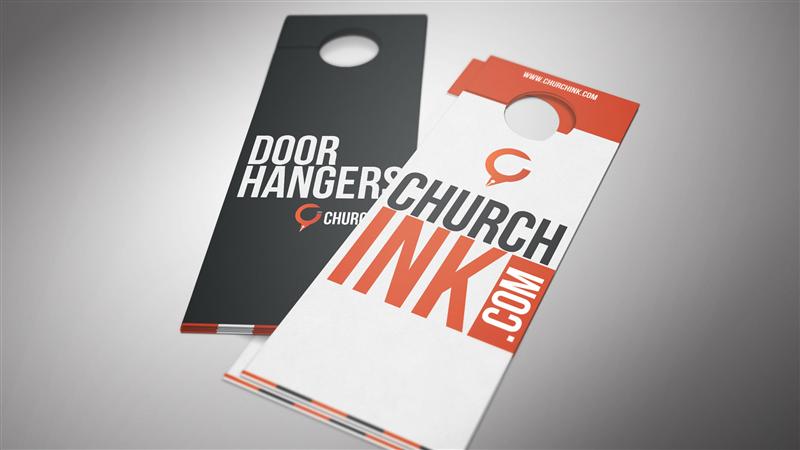 Door Hanger Graphic Design door hanger
