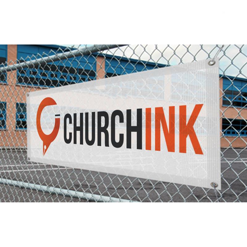 Church Banners Mesh Banner Printing