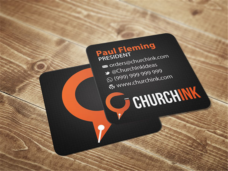 Church Invite Cards 4 inch Square Card Printing – Church Invitation Cards