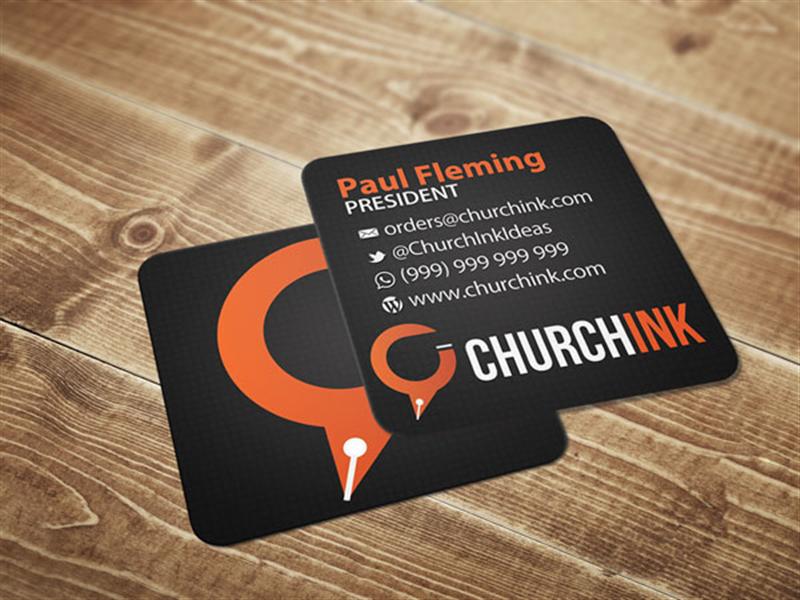 Church Invite Cards 4 Inch Square Card Printing