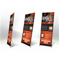 X-Banner Stand Replacement Graphic