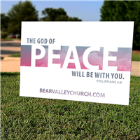 Yard Signs - Lawn Signs - Plastic Signs