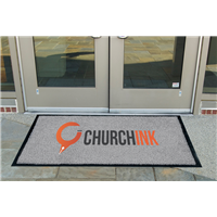 Custom Floor Mats - Indoor/Covered Entrance