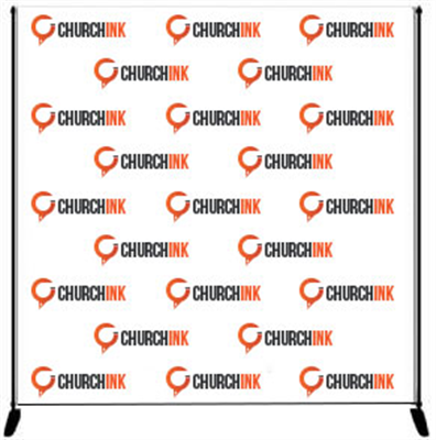 Step and Repeat Banner - Banner Only