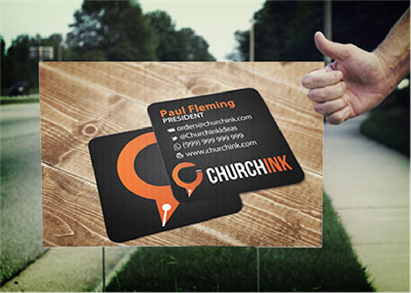 Church Signs | Lawn Sign Printing - Plastic Signs
