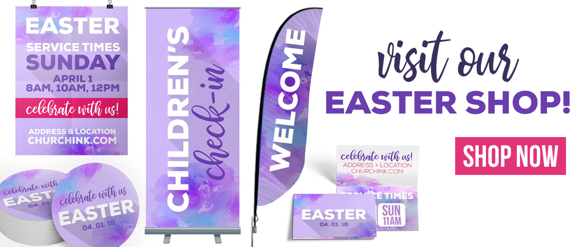 Visit the Easter Center at ChurchINK.com